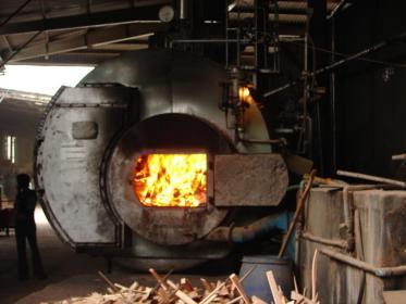 Xử lý khí thải lò hơi đốt củi